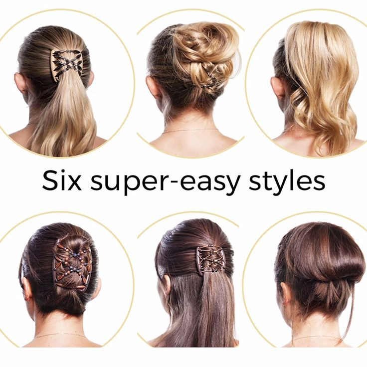 Magic Hair Comb By Hairmagic Style In Seconds In 2020 Easy Hair Updos Hair Styles Magic Hair