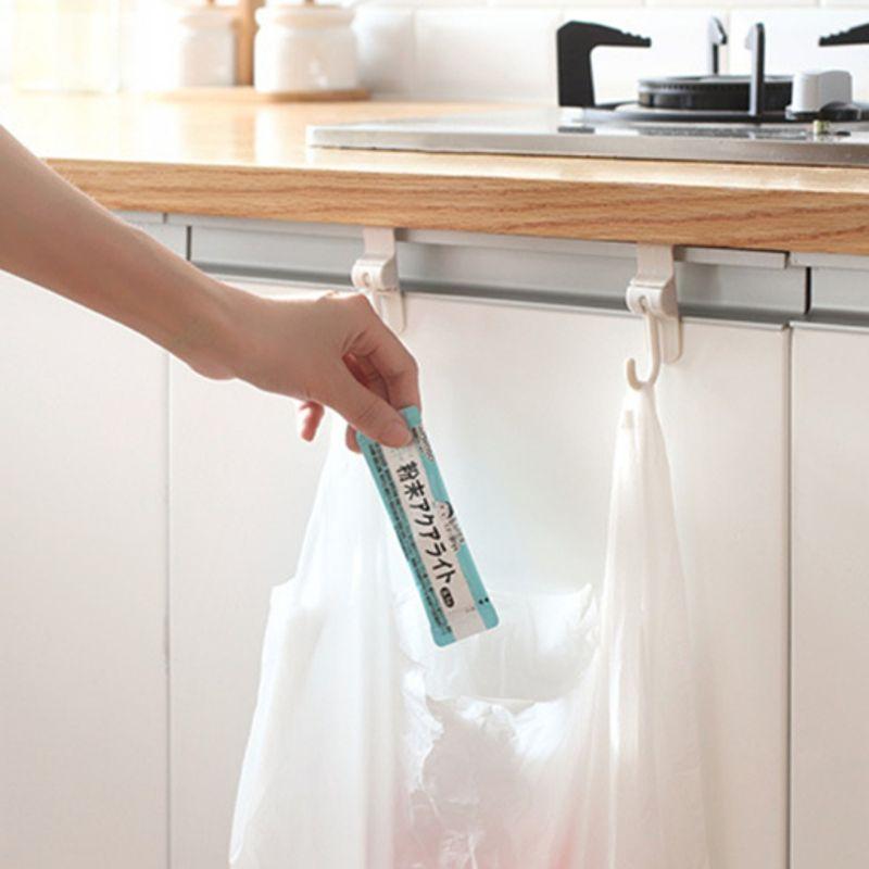 Kitchen Sink Cabinet Door Hooks Hooked 2 Rear Doors Garbage Bag ...
