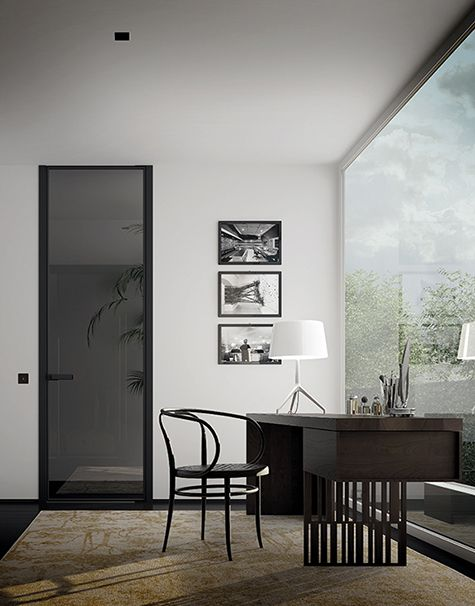 This Innovative System Consists In An Extensive Range Of Space Separation Solutions Featuring Hinged Doors And Slid Sliding Doors Minimalist Design Home Decor
