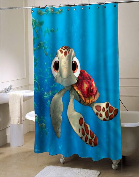 Finding Nemo Shower Curtain Showercurtain Showercurtains Curtains Bath Bathroom Homeandliving