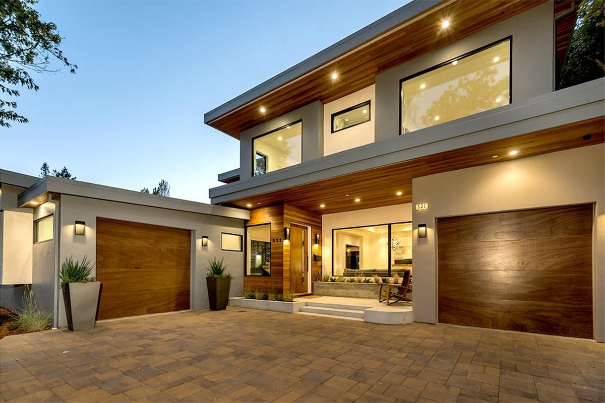 4 modern luxury homes in san jose california - Luxury Homes Exterior Brick
