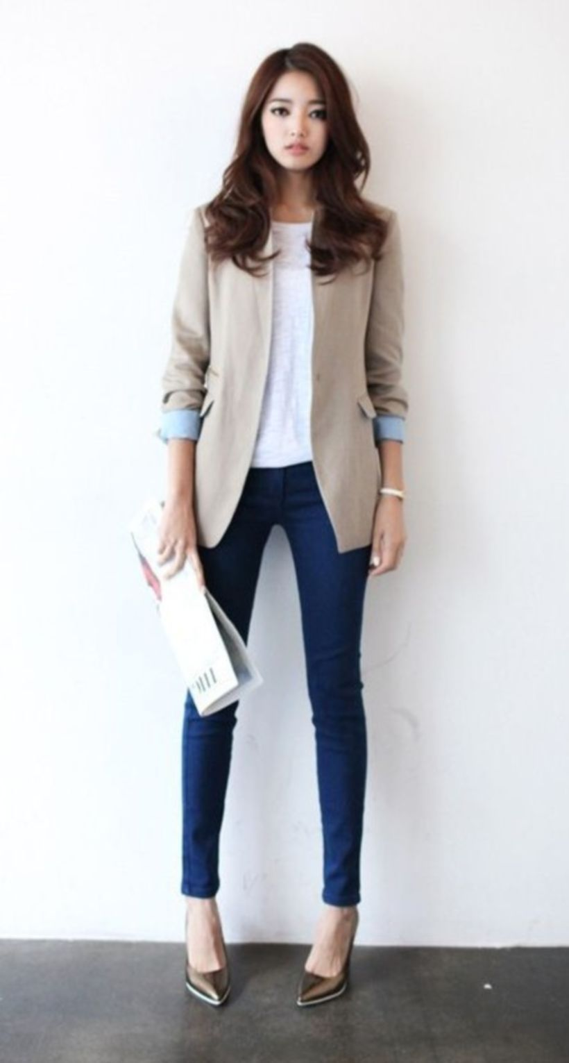 41ce6204e70 Fashionable job interview outfit for teens need to copy 34