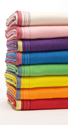 love these richly hued baby blankets! www.petitesfrites...