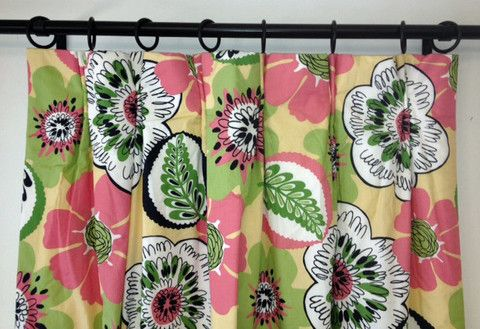 Fruit Salad 1 Pair The Curtain Exchange Limited Editions Floral