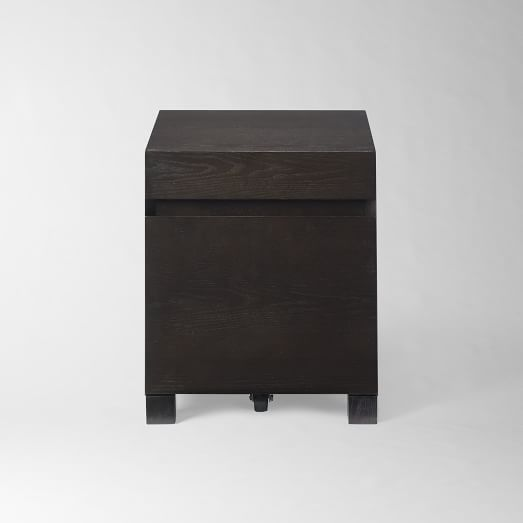 West Elm Parsons File Cabinet Chocolate 249