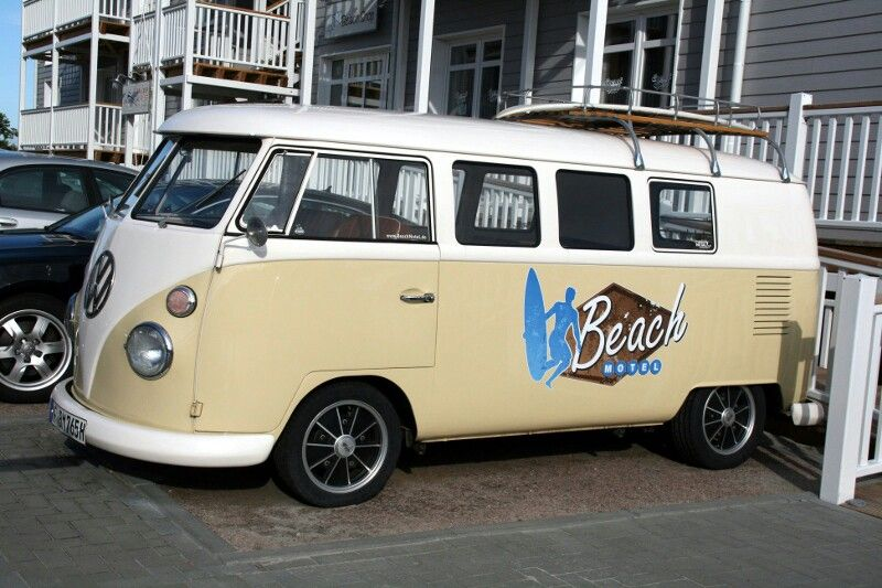 vw bully seen at st peter ording beach hotel vw bus pinterest beach hotels vw and vw bus. Black Bedroom Furniture Sets. Home Design Ideas