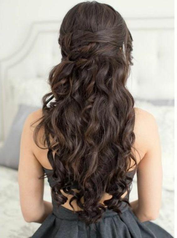 ▷ 1001+ ideas de peinados de fiesta atractivos y femeninos