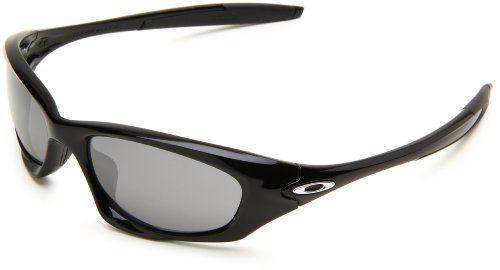 cb4752ce1fe Oakley Mens Twenty OO9157-01 Iridium Oval Sunglasses