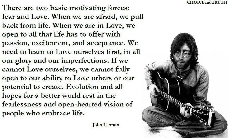 John Lennon John lennon quotes, Long distance love