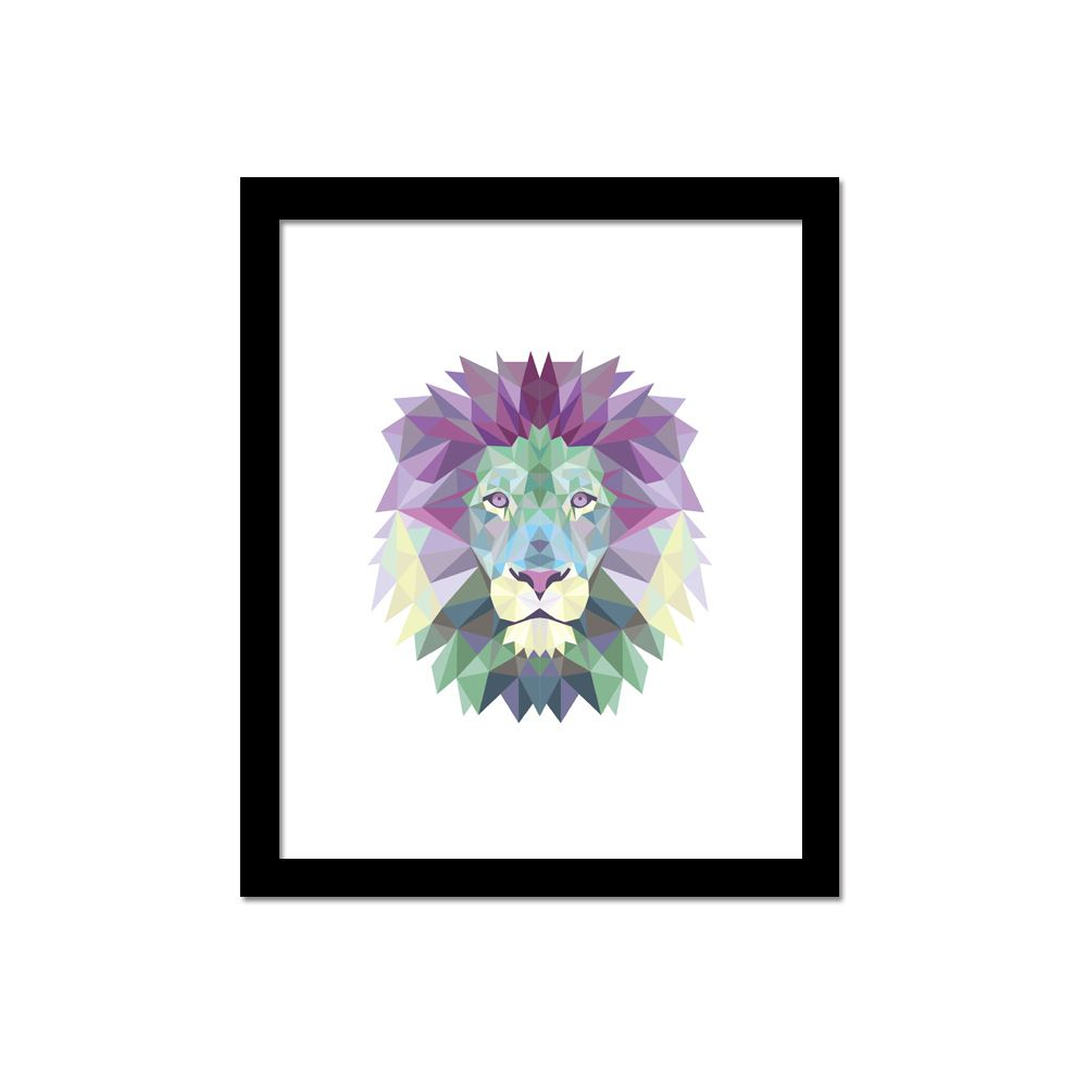 New Arriving Watercolor Lion Art Print Poster Fine Art Painting Home