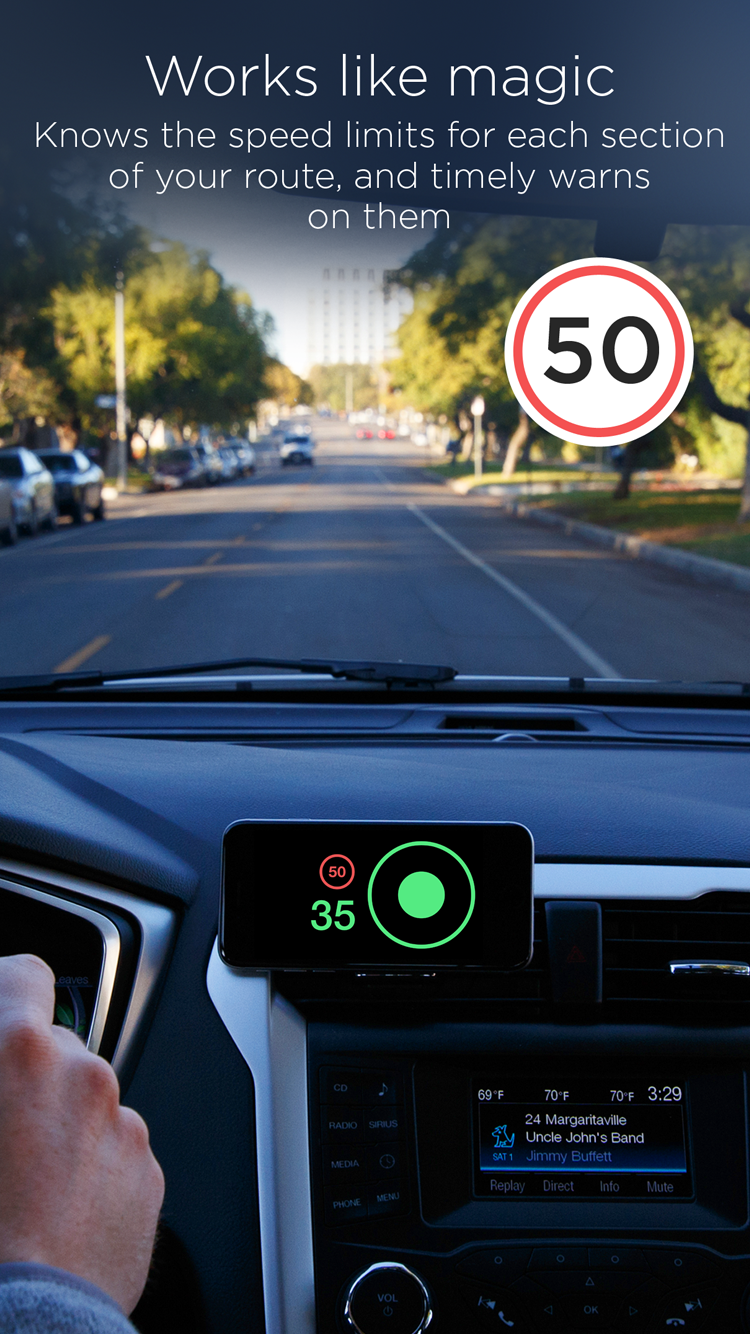 Speedometer App By Hudway For Ios And Android Get Speed Limits