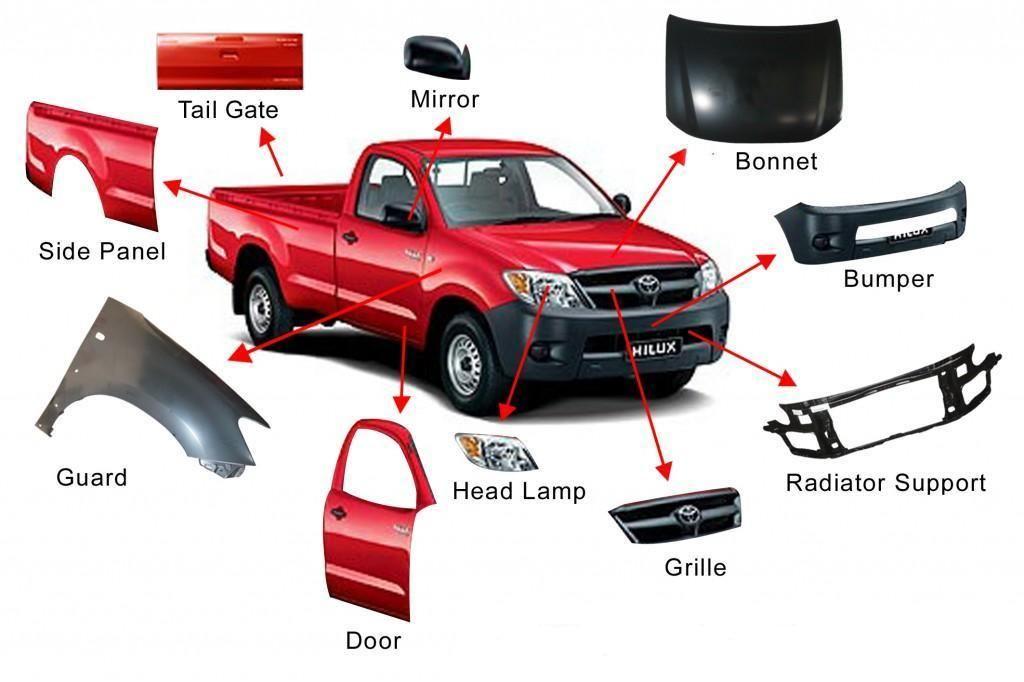 Truck parts. | How do CARZ work? | Pinterest | Cars