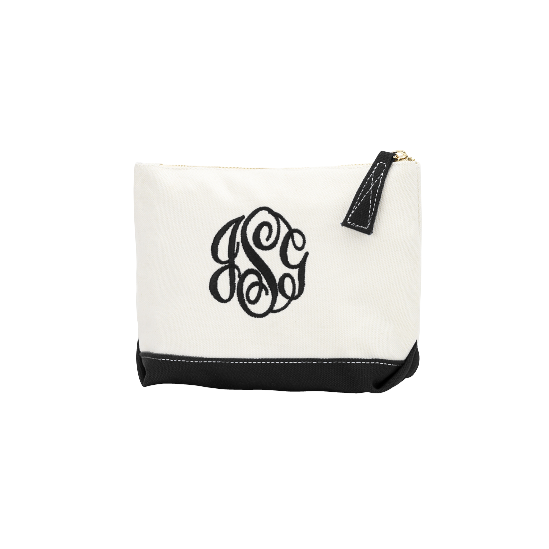 Sullivan Personalized Cosmetic Bag (Available in 4 Colors)