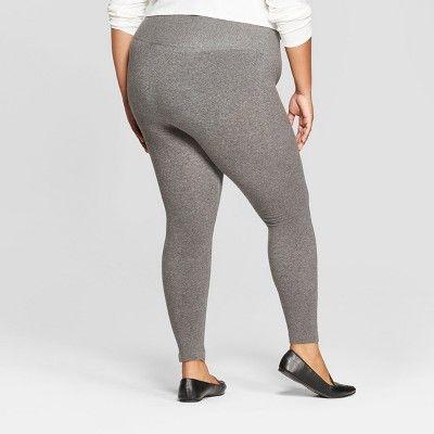 2fcd3423e53a1 Women's Seamless Fleece Lined Leggings - A New Day? Gray Heather S/M  #Affiliate #Fleece, #AFFILIATE, #Lined, #Women