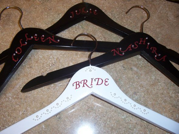 Bridal Party Hangers I Like These But With The Date