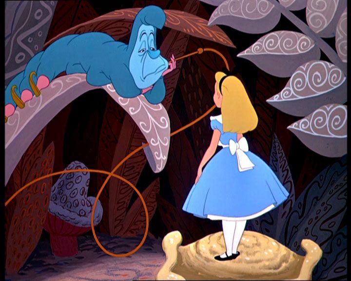 *CATERPILLAR & ALICE ~ Alice in Wonderland, 1951