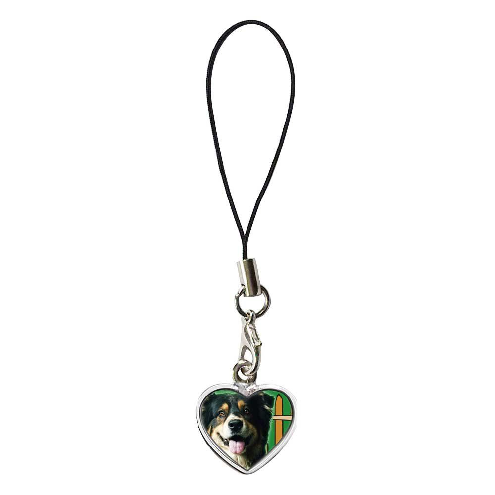 GiftJewelryShop Silver Plated Travel Australian Shepherd Flower Photo Dangle Heart Strap hanging Chain for Phone Cell Phone CharmBracelets. Brand new high quality cute fit for any 3.5mm headphone jack(including cellphones,tablets,and MP3 players). Comes with short string loop, can attach to your cell phone, DC or use it as keychain. Reuseable rubbery plastic plug is easy to remove and insert, against dust and water.Prevent dust and debris from entering the phone and casuing damage to the...