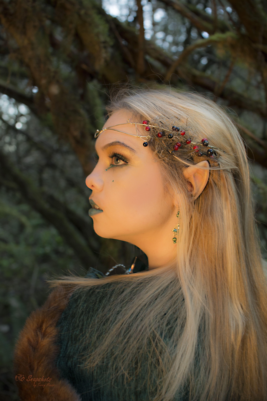 Dark Elf makeup By Katana Cosplay Elf makeup, Hair