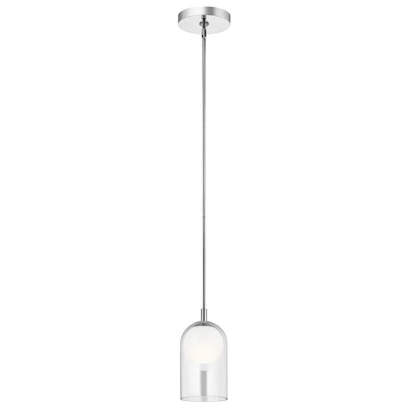 Scheer 1 Light Led Single Bell Pendant Allmodern Led Lights Contemporary Pendant Lights Pendant Lighting