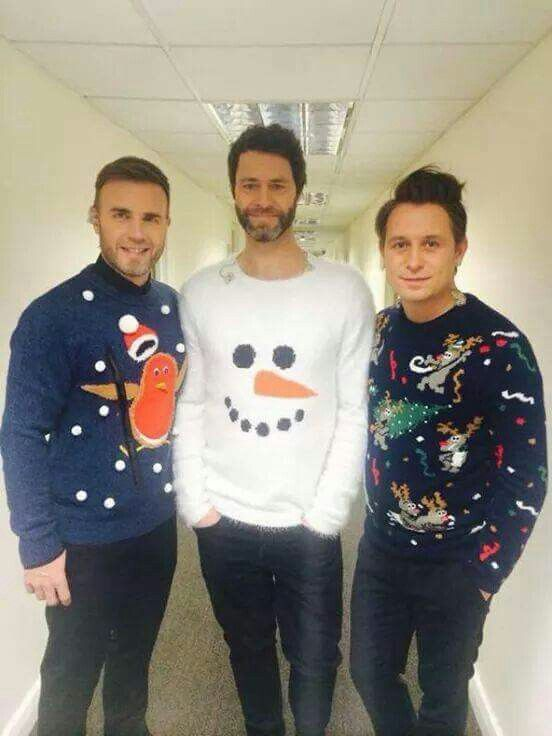 Getting In That Christmas Spirit Tt Bebae4bowie Take That Band