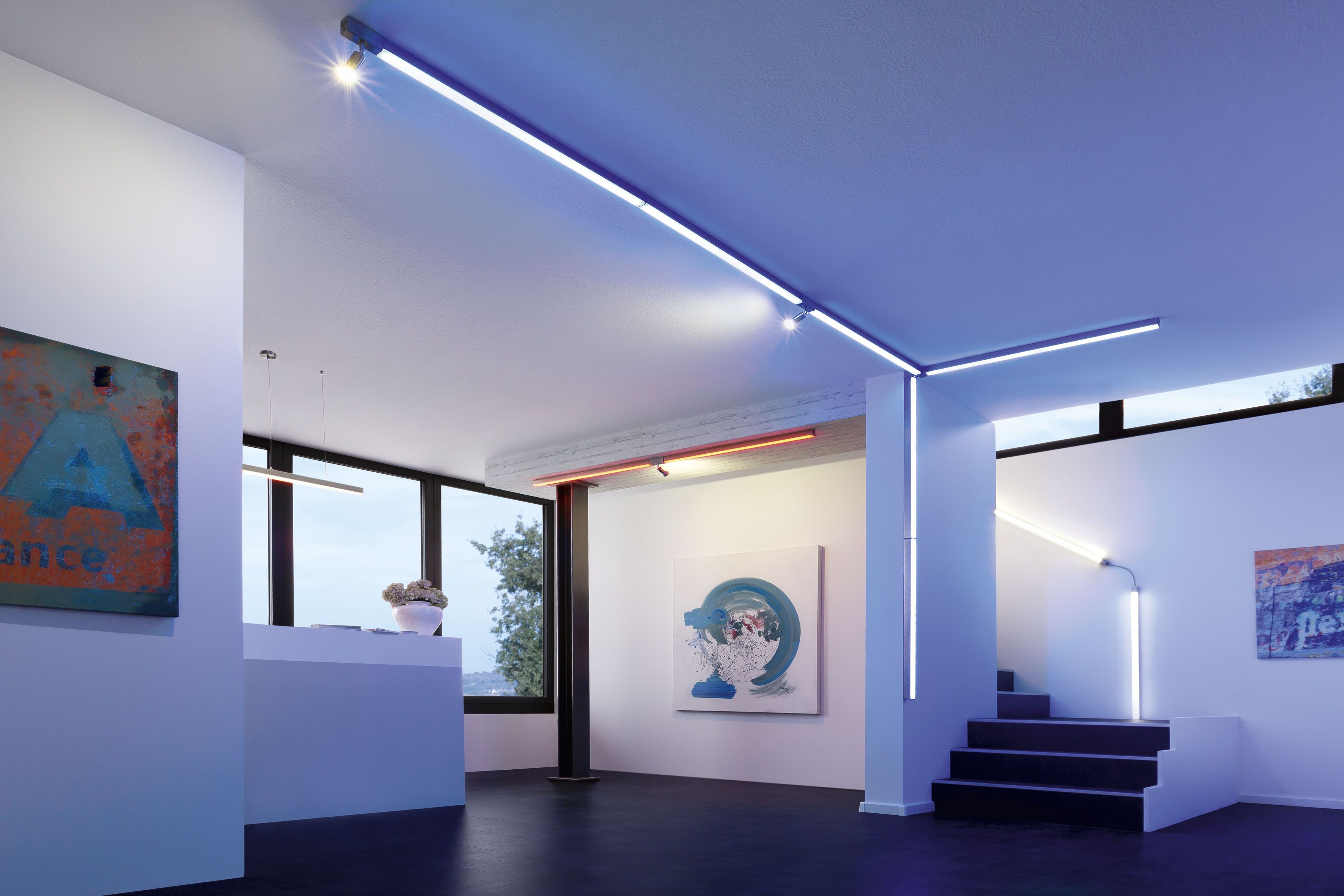 Licht im Flur und der Diele  Ideen rund ums Haus