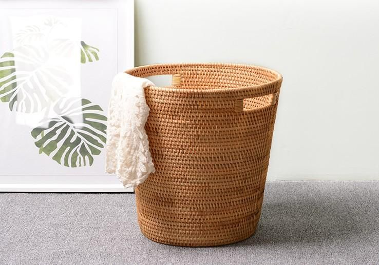 Large Hand Woven Storage Basket Large Woven Basket Vietnam Round Basket Woven Baskets Storage Storage Baskets Large Woven Basket