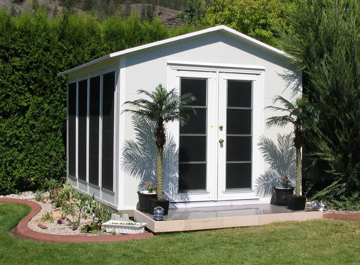 back yard sheds designed and manufactured in kelowna b c