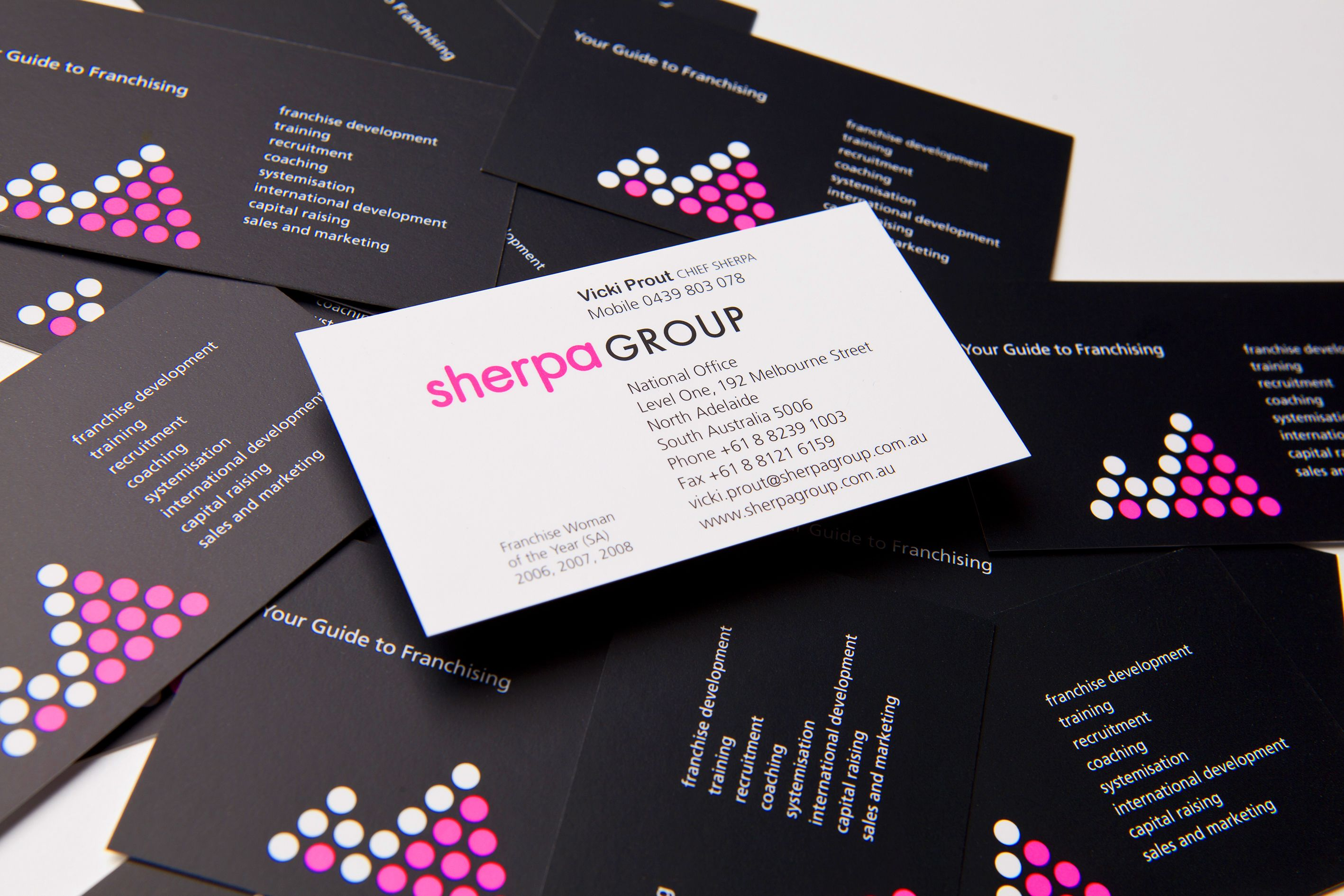 Sherpa Business Card | Toolbox folio | Pinterest | Toolbox and ...