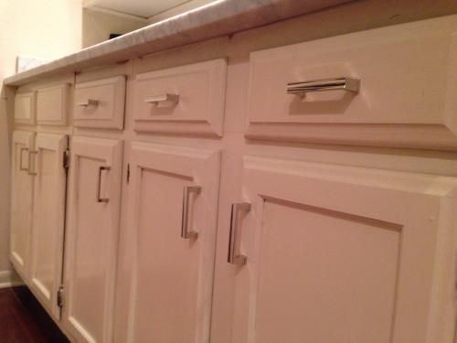 Martha Stewart Living 3 in. (76mm) Polished Nickel Channel Cabinet ...