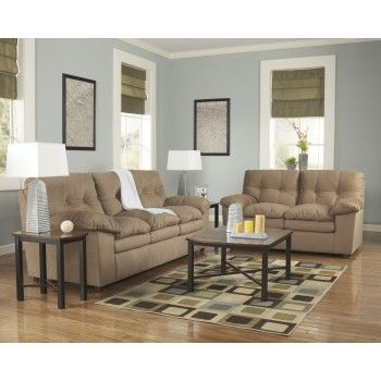 Enjoyable Mercer Mocha Sofa Loveseat Furnitureworldsuperstore Download Free Architecture Designs Intelgarnamadebymaigaardcom