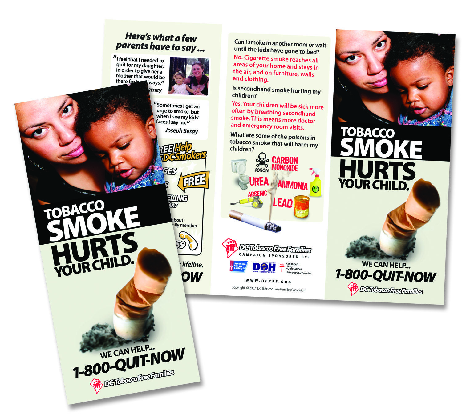 DCTFF Anti-Smoking Campaign Brochure