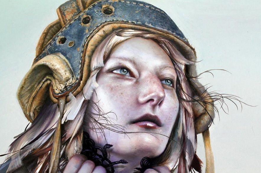 Karen Hsiao #urbanart #streetart #graffiti #art #painting #abstract #popart #portrait #comics #illustration
