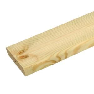 Weathershield 1 5 32 In X 6 In X 8 Ft Thick Deck Pressure Treated Decking Board 346073 The Treated Wood Deck Pressure Treated Deck Boards Wood Deck Boards