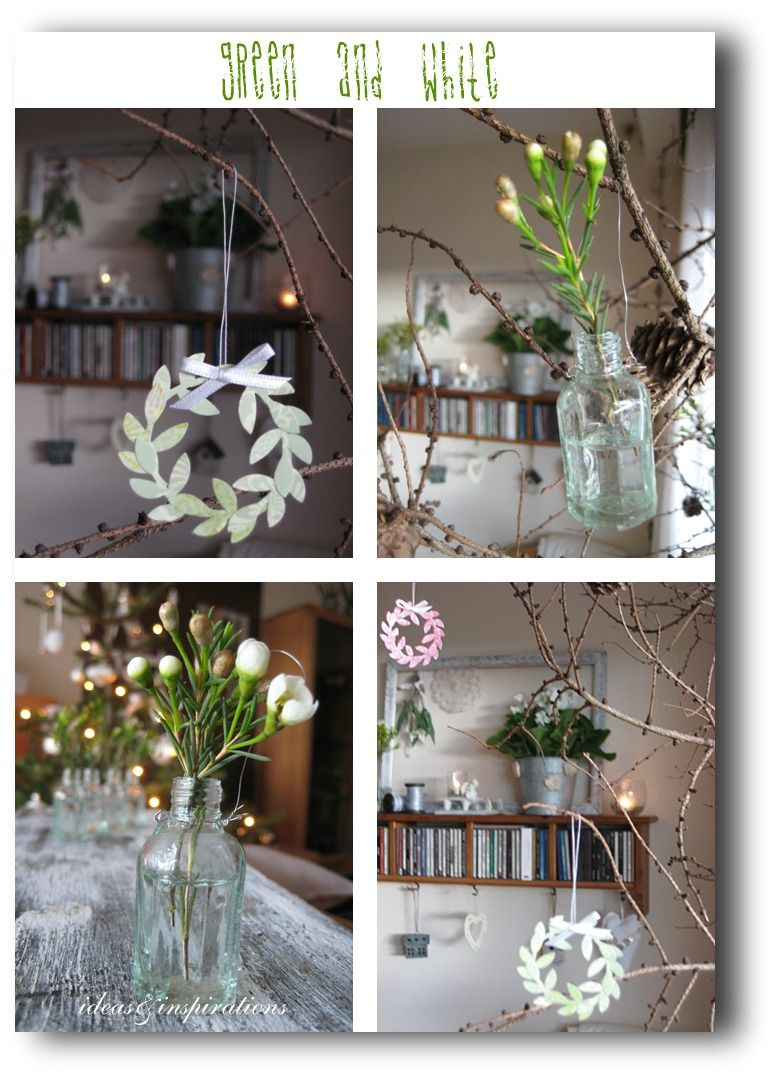 Ideas And Inspirations Januar Dekoration January Decoration Jan