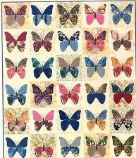 Mariposas - reconstruido y patrón de aplicación del edredón - torta de capa friendly