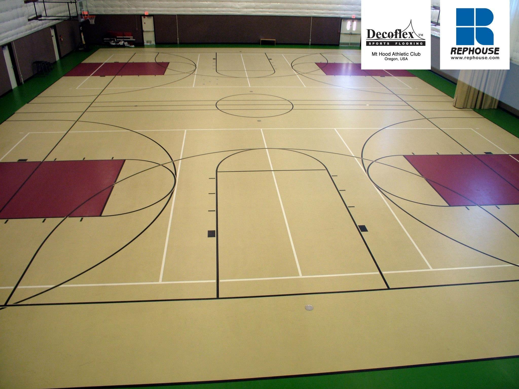 Decoflex Universal Seamless Polyurethane Indoor Sports