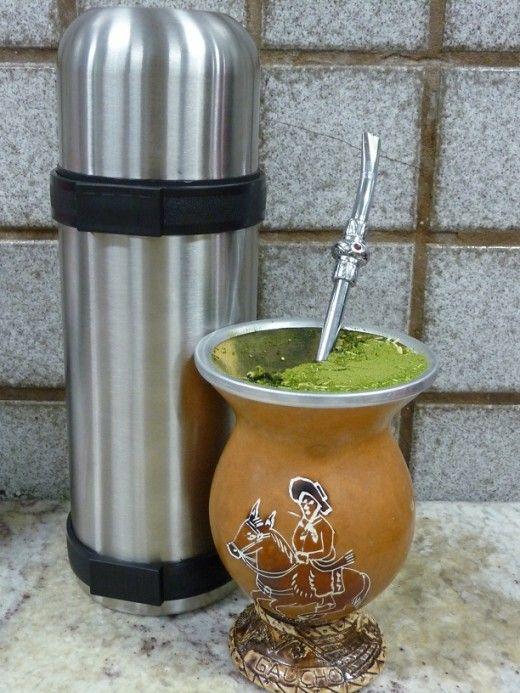 chimarrao bebida do Rio Grande do Sul(Brasil)