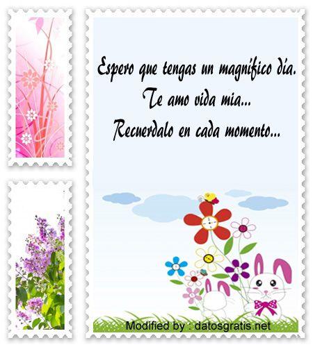 Bonitos Mensajes Y Tarjetas De Buenos Dias Para Mi Novio Frases