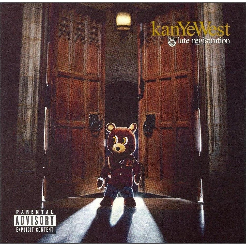 Pin By Camille On Teenage Girl Room In 2020 Late Registration Kanye West Albums Kanye West