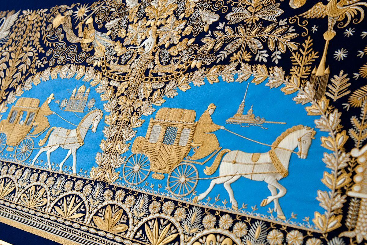 Музей золотного шитья при фабрике «Торжокские золотошвеи»