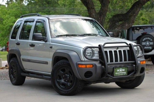 Black Rims And Brush Grill Jeep Liberty Sport Jeep Liberty