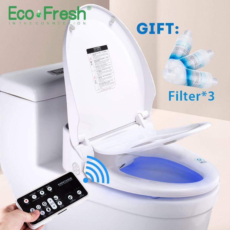 Incredible Ecofresh Smart Toilet Seat Washlet Electric Bidet Lamtechconsult Wood Chair Design Ideas Lamtechconsultcom