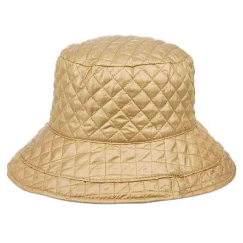 a06de067e4729 Quilted Rain Hat with Toggle - Angela   William — SetarTrading Hats