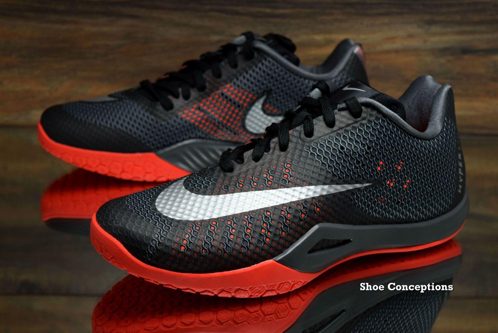Nike Hyperlive Black Silver 819663-002