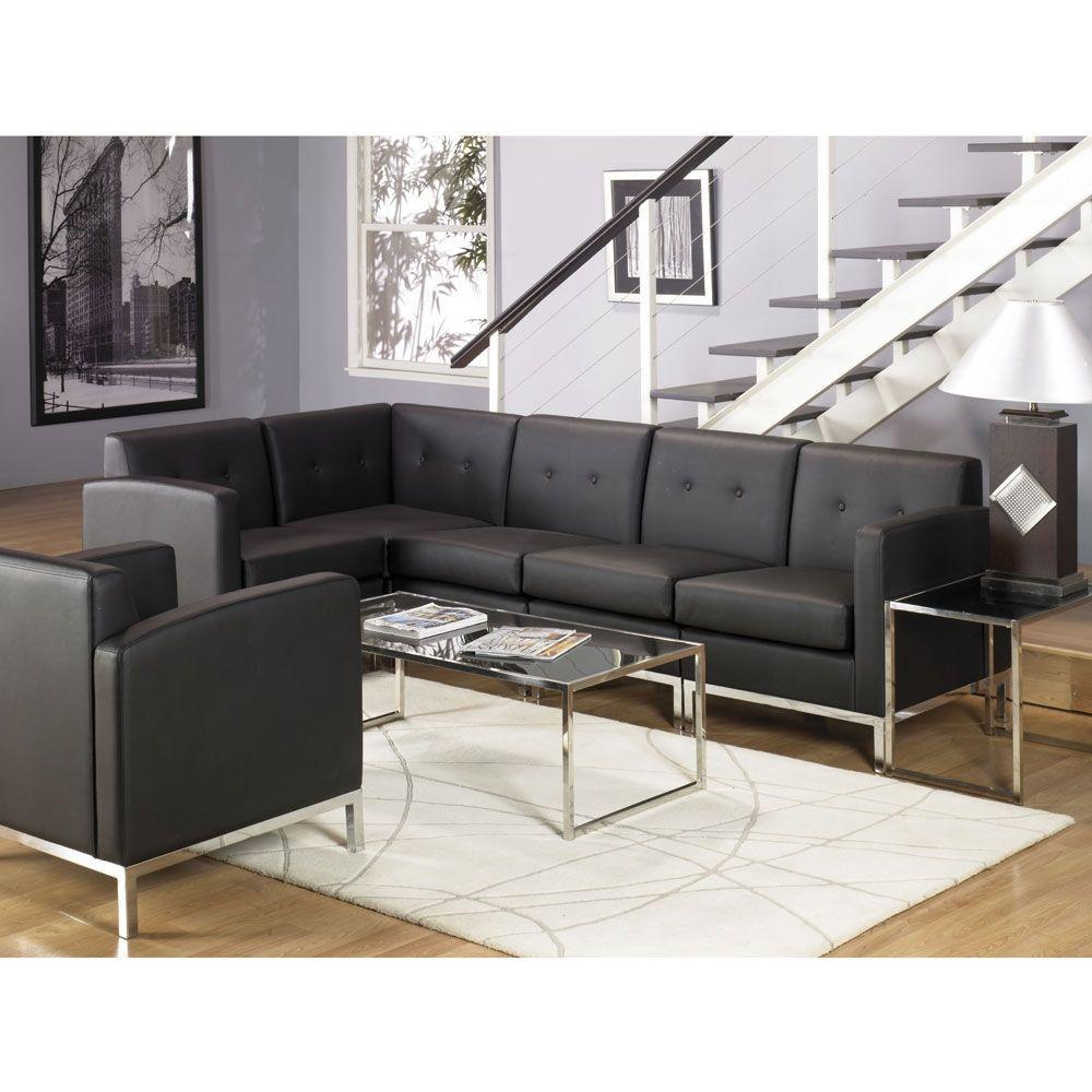 Faux Leather L Shaped Sofa Nursery Christian Ed Wing L
