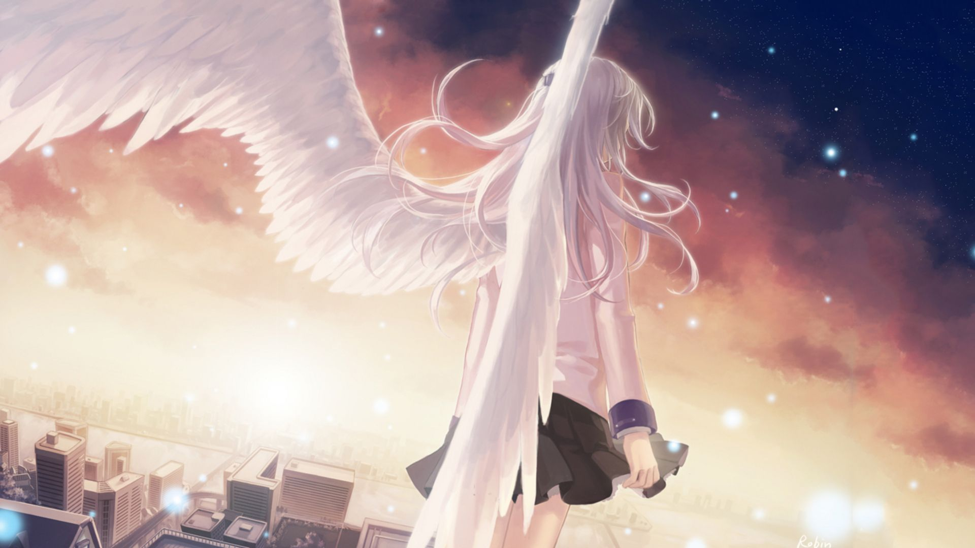 Angel Beats Wallpaper Arte De Anime Anime Angel Y Arte Anime