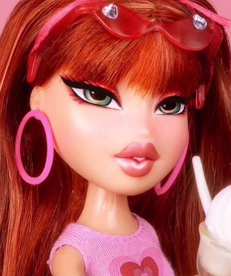 Bratz Doll Red Hair Lana Collector On Mercari Bratz Doll Red Hair Fashion Dolls