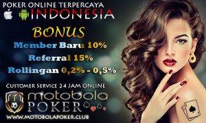 Listpokerindonesia yang menyediakan beberapa Situs Judi Online Terpercaya seperti Motobola Agen Taruhan Capsa Terbesar di indonesia minimal deposit 10rb.