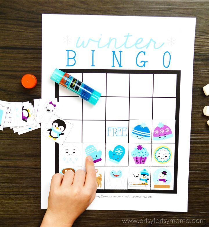 Free Printable Winter Bingo | Winter Crafts & Activities | Pinterest ...
