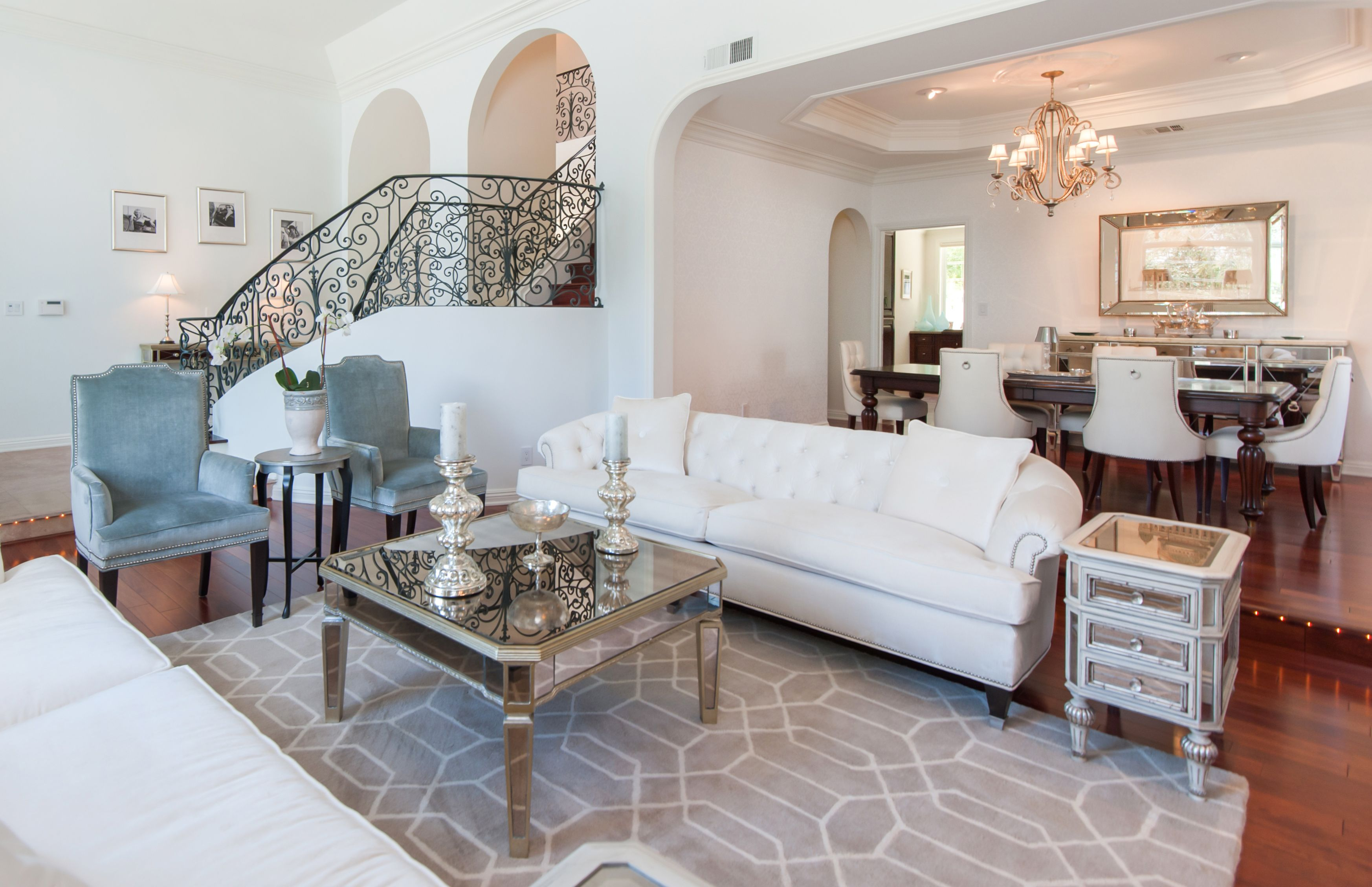 Carol Nitchman of Grace Home Furnishings worked with her clients to decorate…